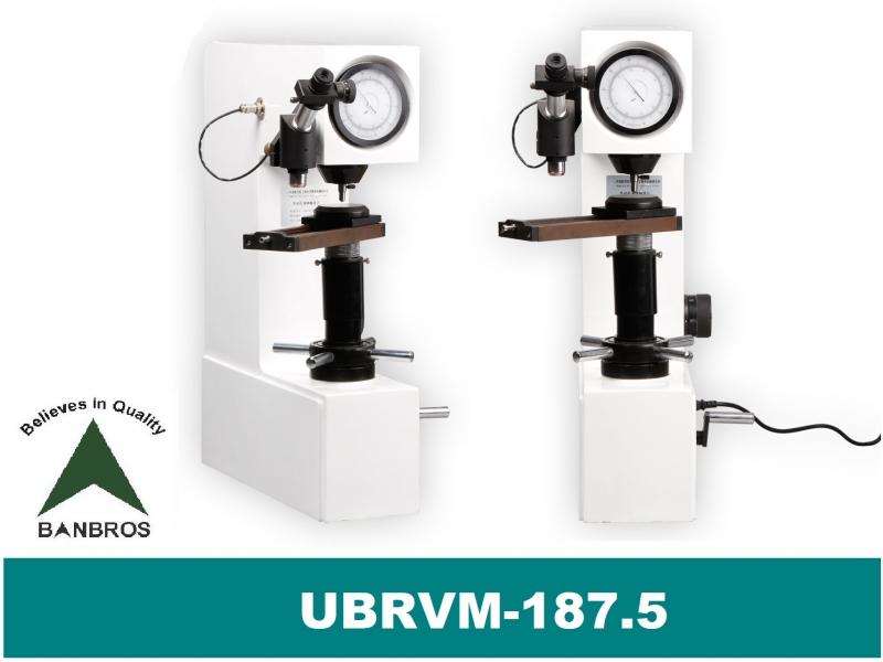UBRVM-187.5 Universal Bench Top Hardness Tester