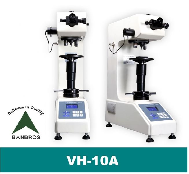 VH-10A Vickers 10 Kg Bench Top Hardness Tester