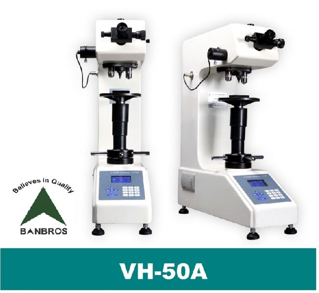 VH-50A Vickers 50 Kg Bench Top Hardness Tester