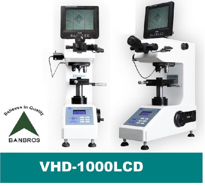 VHD-1000LCD Micro Bench Top Hardness Tester