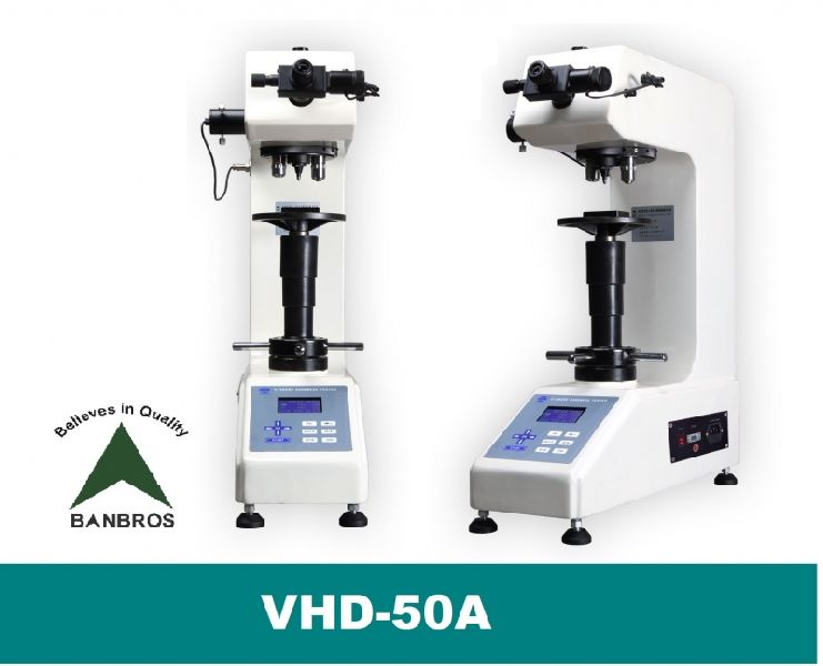VHD-50A Vickers 50 Kg Bench Top Hardness Tester
