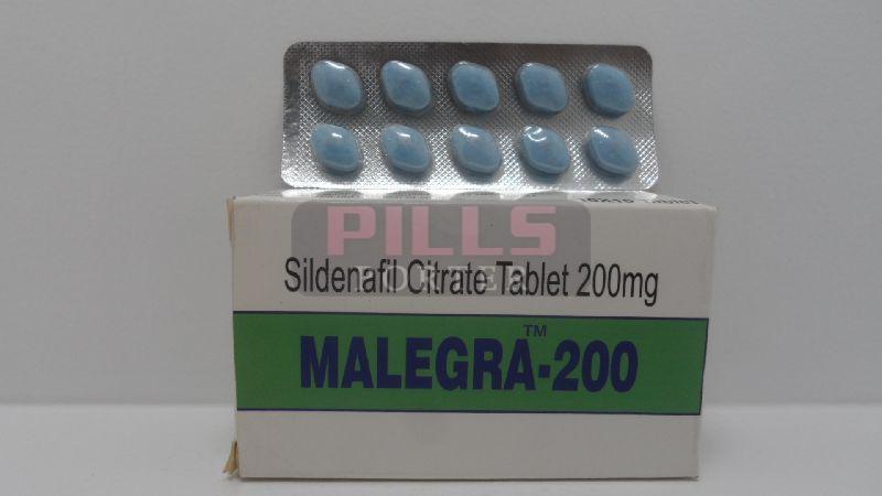 Malegra 200mg Tablets