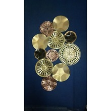 Design Round Plate Wall Hanging With LED