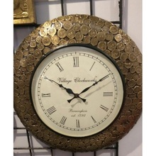 Indian Coin Wall Clock