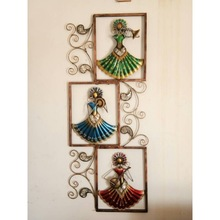 Lady Musician Wall Hanging