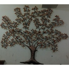 Multi Colored Kalpvruksh Tree Wall Hangings