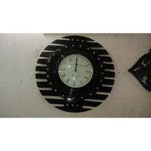 Stripped Wall Clock