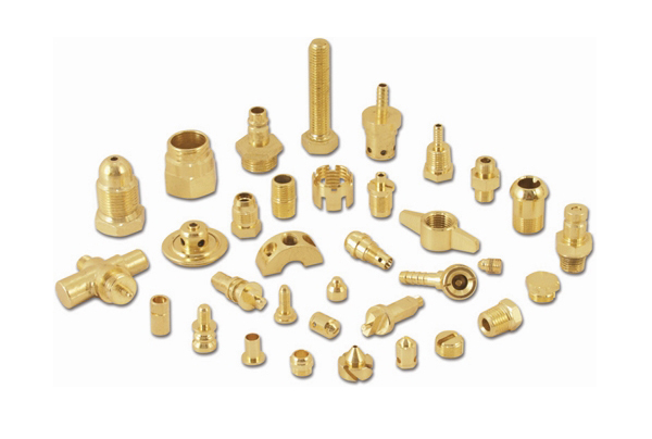 Brass Machined Parts 02