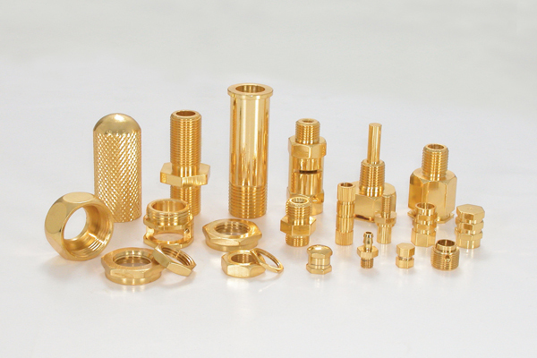 Brass Turned Parts 01