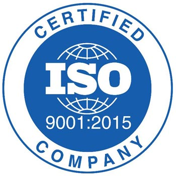 ISO 9001 : 2015 Certification