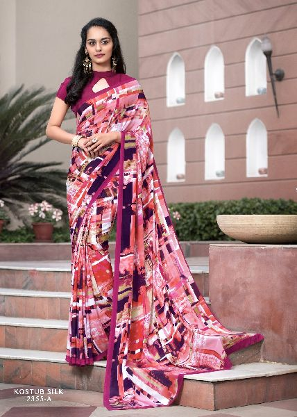 Crepe Silk Saree 01