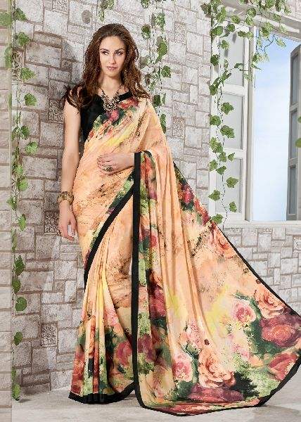 Crepe Silk Saree 03