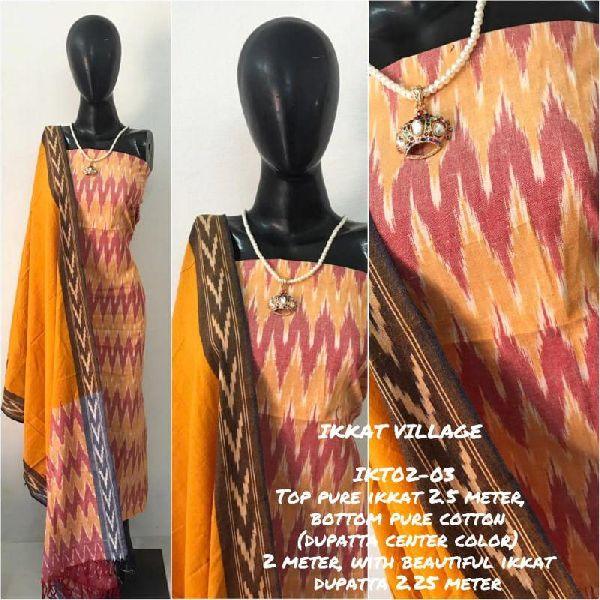 Ikkat Cotton Suits 02