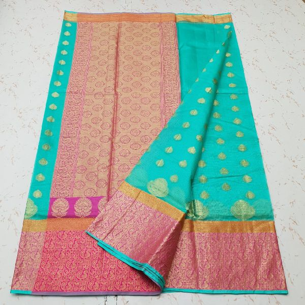 Kota Doria Silk Weaving Saree 01
