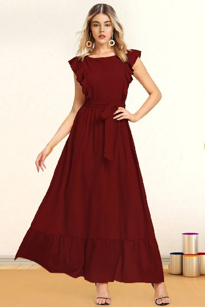 Ladies Western Wear Dress 02