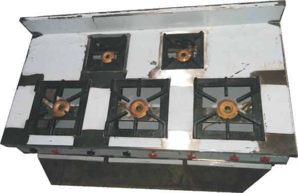 Five Burner Gas Range