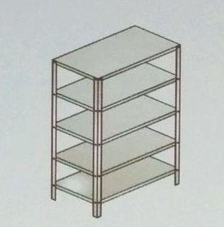 Fabricated Five Shelves Storage Rack