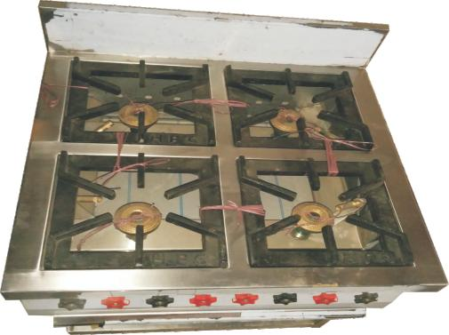 Four Burner Gas Range