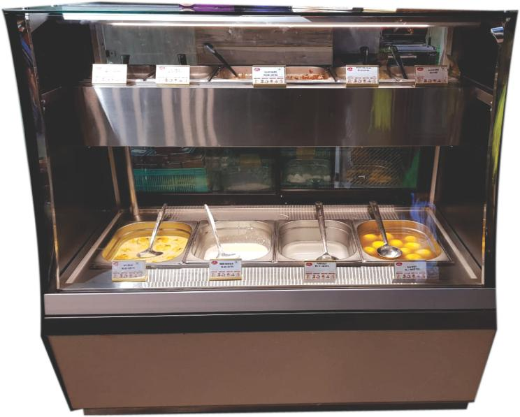 Hot and Cold Bain Marie Display Counter