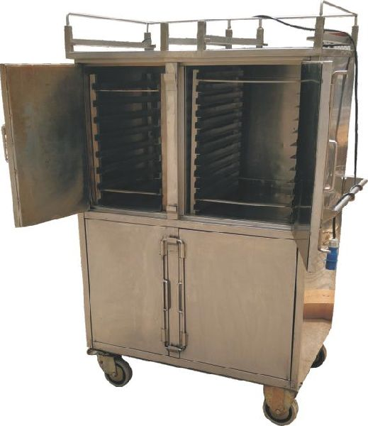 Mobile Hot Food Trolley