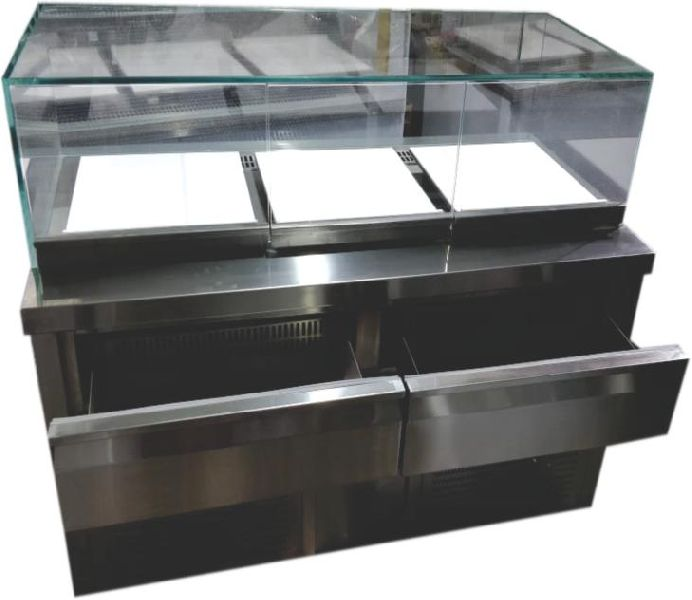Drawer Undercounter Refrigerator Jewellery Showcase