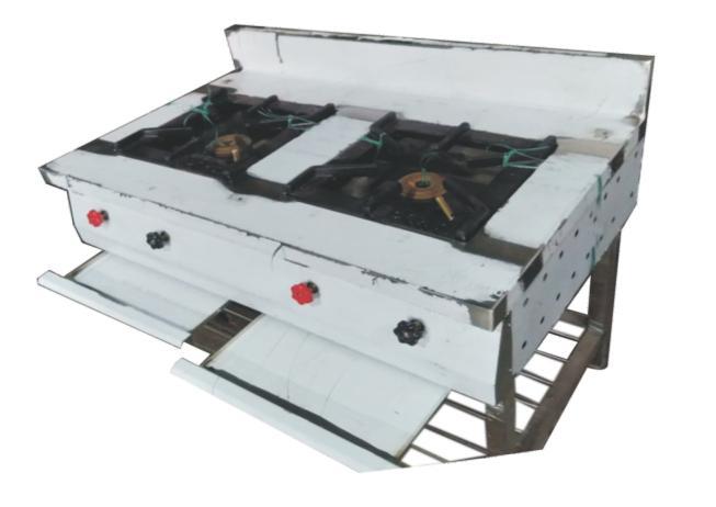 Two Burner Gas Range