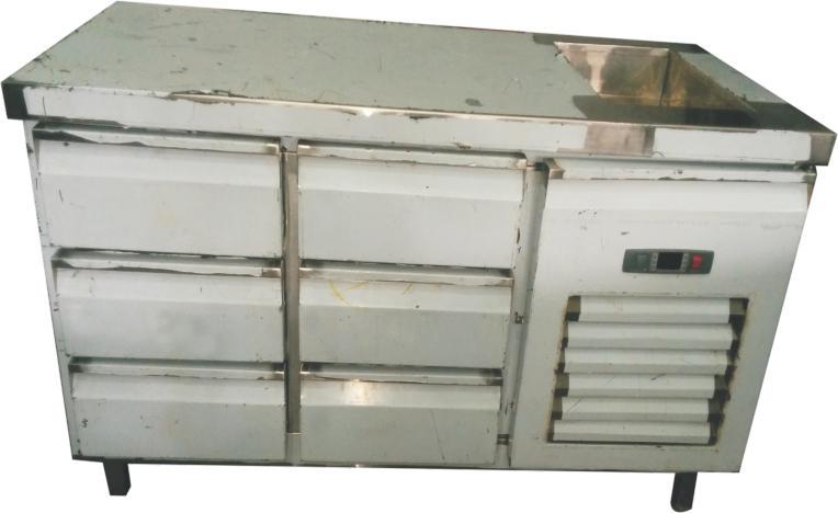 Pan Drawer Undercounter Refrigerator