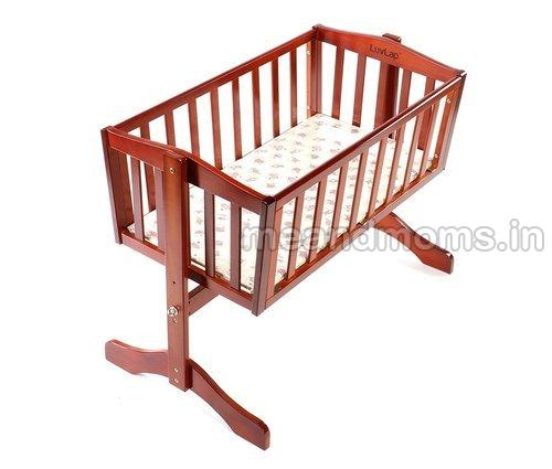 Wooden Baby Cot without Wheel