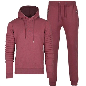 Tracksuit Red Made Of Fleece Manufacturer Supplier in Pakistan