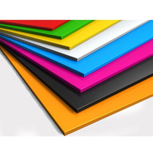 Colored Plastic Sheet