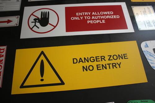 Aluminium Warning Sign Boards