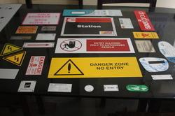 Anodized Aluminum Nameplate 01