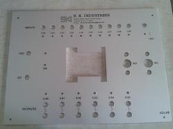 Control Panel Labels
