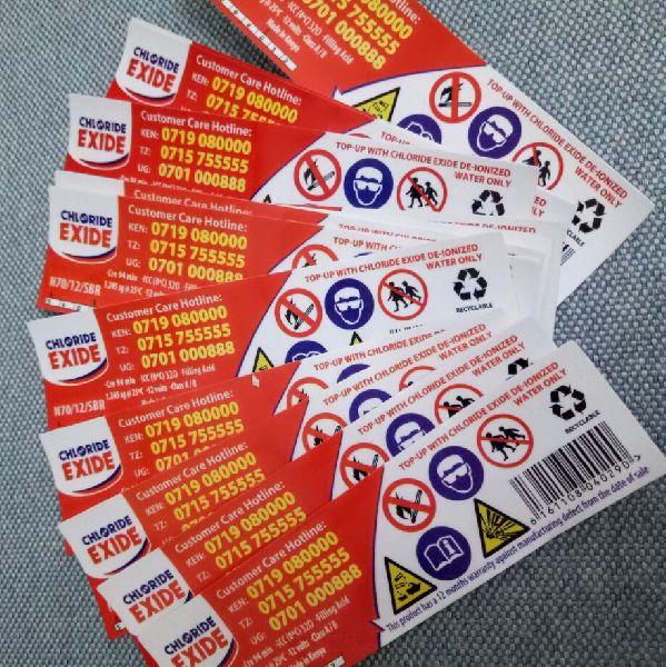 Vinyl Promotional Stickers