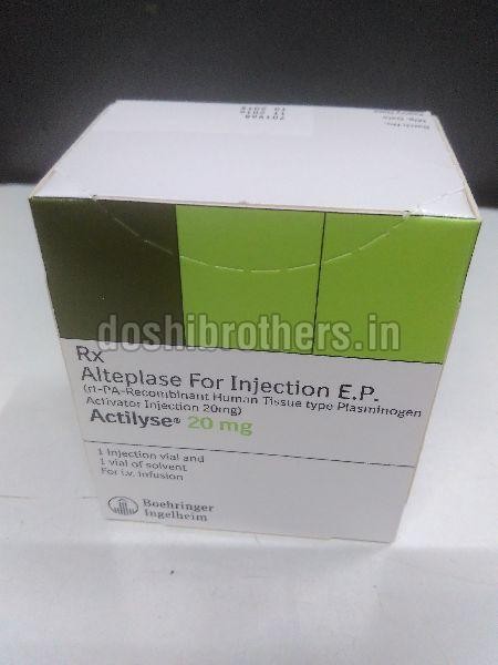 Actilyse 20 mg Injection