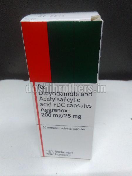 Aggrenox 200mg/25 mg Capsules