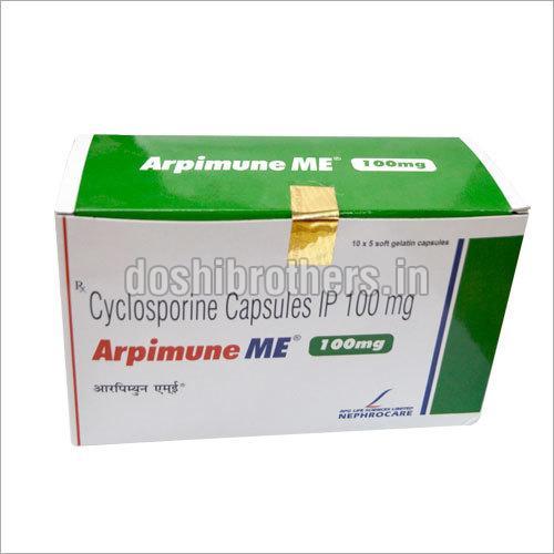 Cyclosporine Capsules IP 100mg