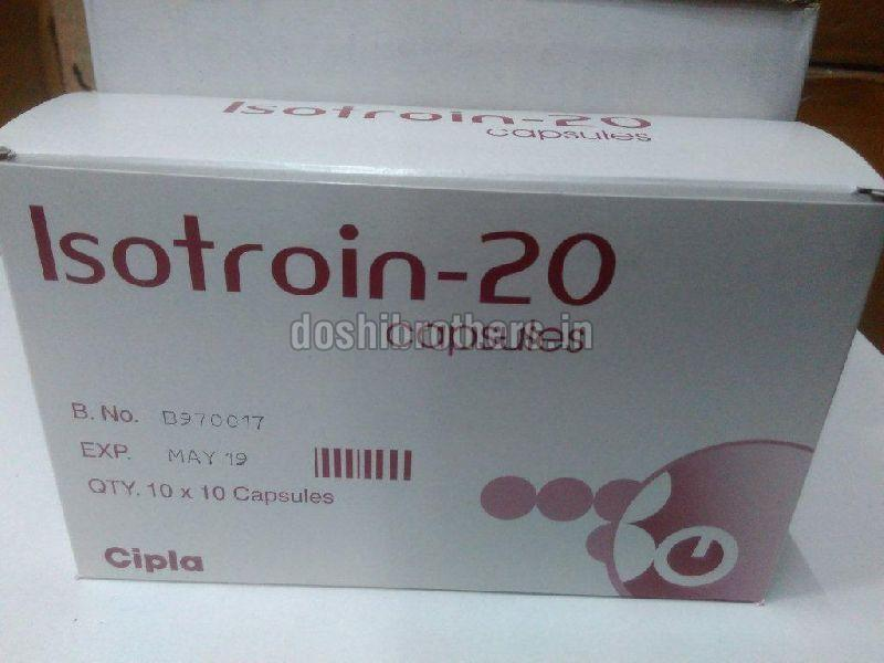 Isotroin 20mg Capsules