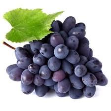 Fresh Farm Black Grapes