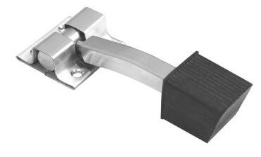 Stainless Steel Square Single Door Stopper Manufacturer