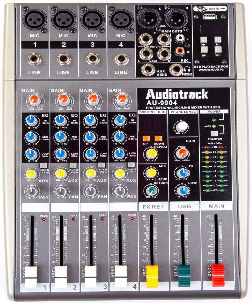 Audio Mixer AU-9904FX