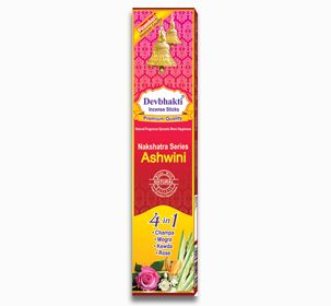 Ashwini 4 in 1 Incense Sticks