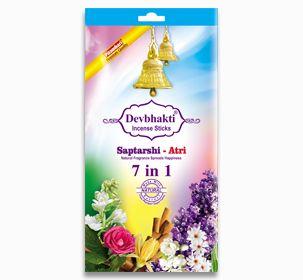 Saptarshi Atri 7 in 1 Incense Sticks