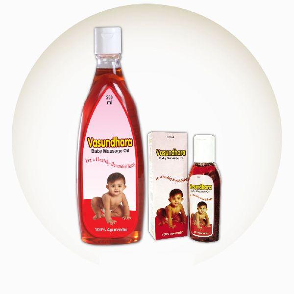 Vasundhara Baby Massage Oil