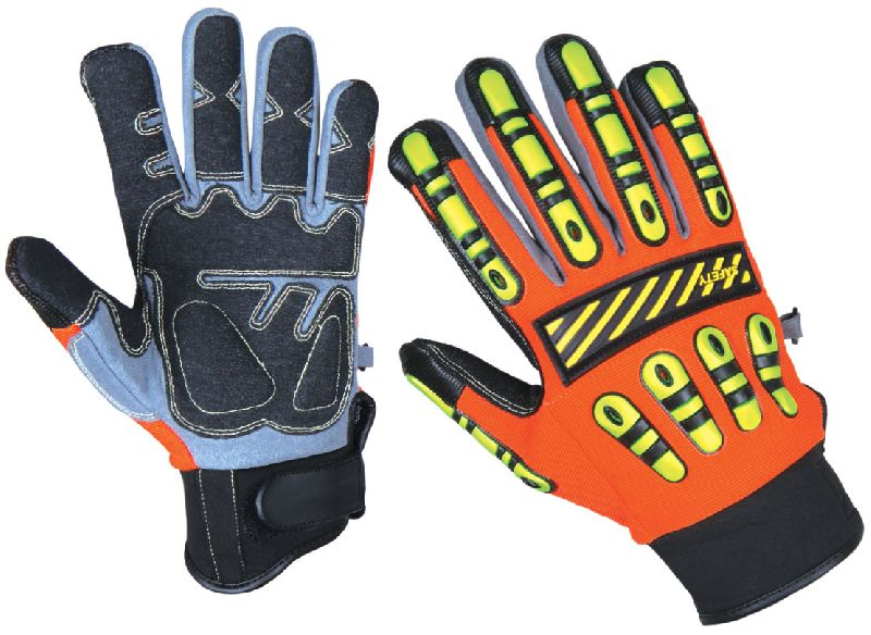 Cut 5 TPR Gloves / Cut Resistant Gloves / Impact Gloves for Oilfield