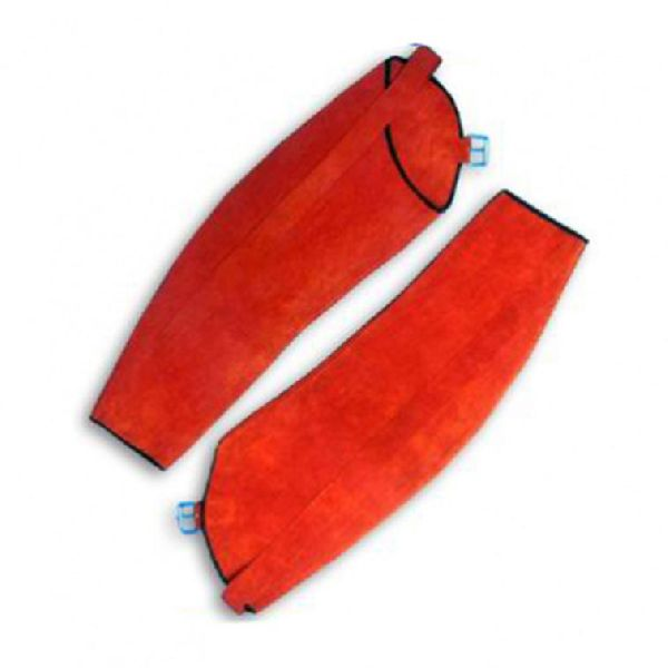 Leather Industrial Work Safety Hand Sleeves / Safety Welder Sleeves / Filing and Grinding Sleeves