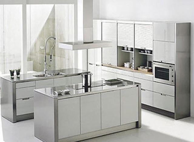 Stainless Steel Modular Kitchen Manufacturer Supplier In