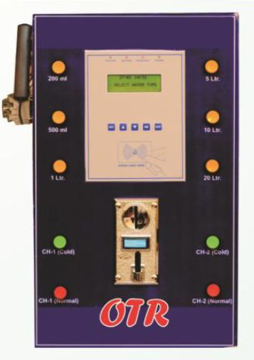 Normal and Cold Water Vending ATM Controller