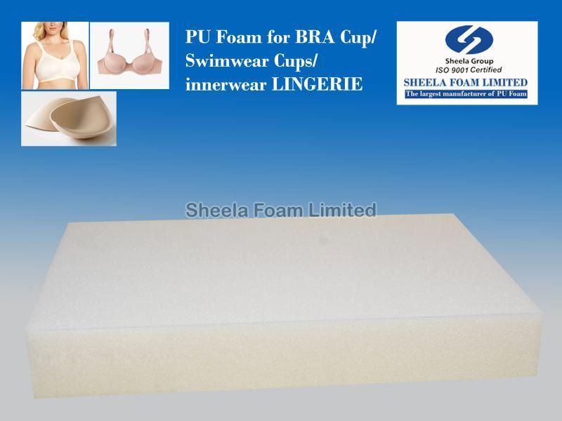 Bra Cup, PU Foam, Swimwear Cups,PU Foam for Bra Cups, Moulded PU Foam cups