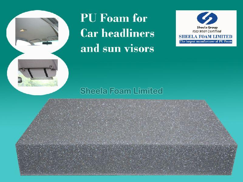 Car Headliner & Sun Visor PU Foam Sheets - Rolls